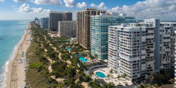 Bal Harbour Beach Aerial View